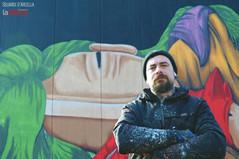 Anche all'Arcella si festeggia il capodanno cinese con il murale di Tony Gallo alla scuola Briosco