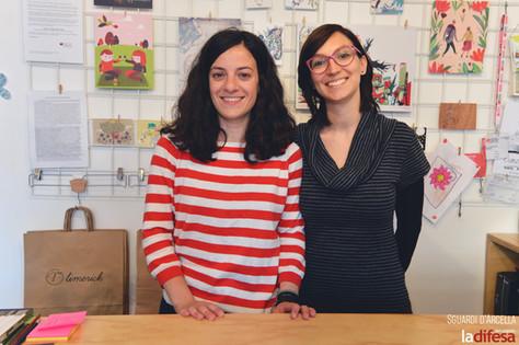 """Limerick, la sfida di Grazia e Marta: «Una libreria all'Arcella. Ma non chiamatela """"per bambini""""»"""