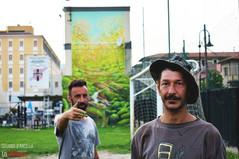Biennale street art: il murale di Boogie e Bonato è una lezione di prospettiva