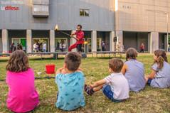 """Ecco il """"Magnete della creatività"""", la piattaforma artistica nell'area verde di San Carlo. Senza recinzioni, ma per le relazioni."""