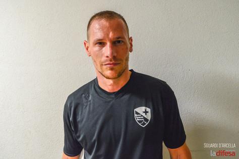 Samuel, capitano dell'Arcella calcio: «Da ragazzino a padre, i miei dieci anni in squadra»