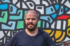 """""""I want to know you"""", il murale di Iapimh all'Arcella è un invito a conoscersi senza pregiudizi"""