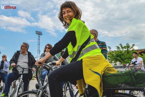 """""""Bicicliamo l'Arcella"""", una pedalata contro il nuovo cemento"""