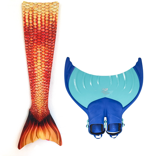 Meerjungfrauen Set Goldfish von Premium Mermaid