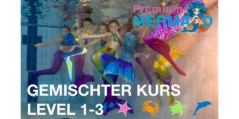 Mermaid Level 1-2 (gemischte Gruppe) Uznach (3)