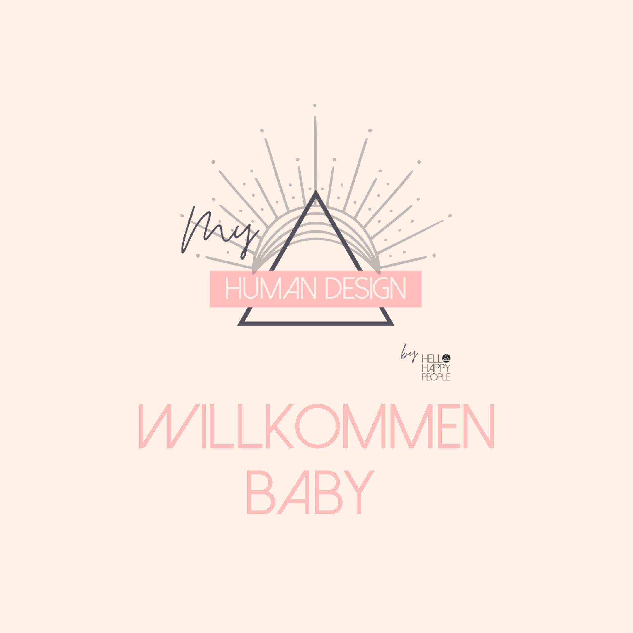 GUTSCHEIN WILLKOMMEN BABY!