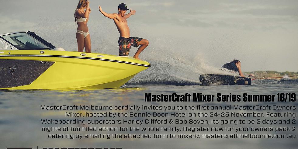 MasterCraft Mixer 2018
