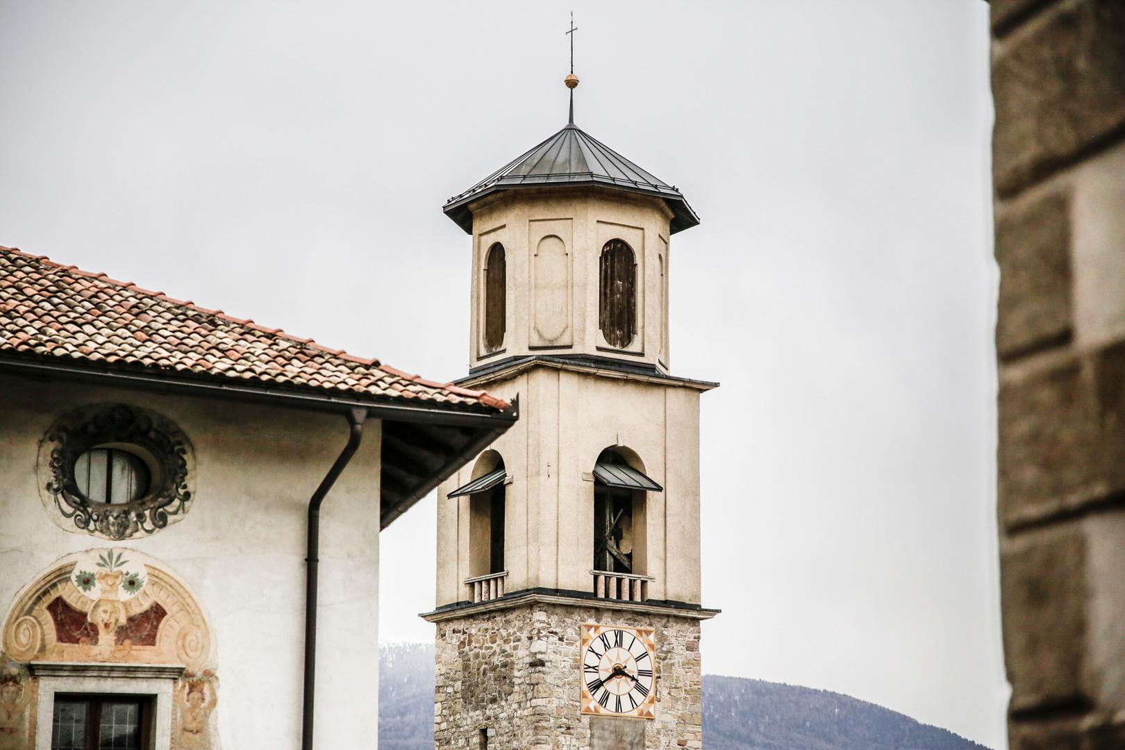 Il campanile della chiesa di S. Stefano