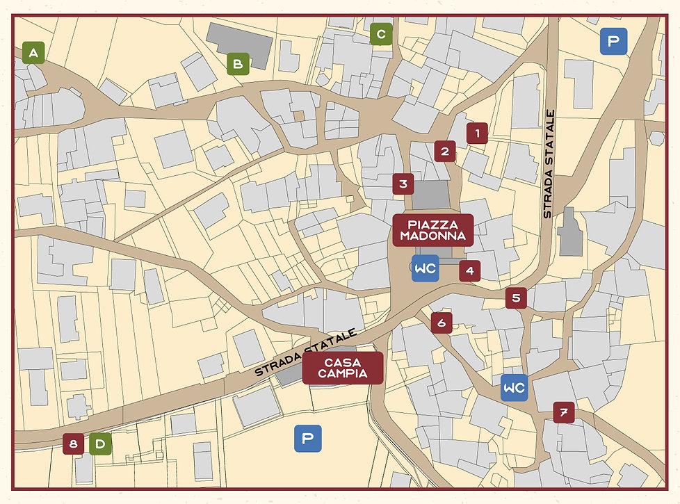 Cartina dei vòuti
