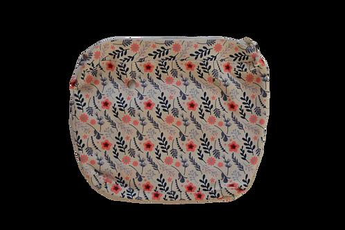 Подкладка  для корпуса мини красный цветок