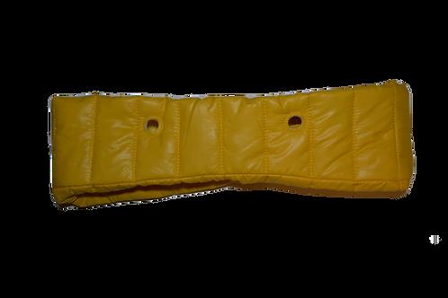 Манжета пуховик желтая
