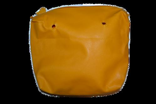 Подкладка оранжевая экокожа
