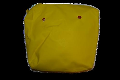 Подкладка желтая экокожа