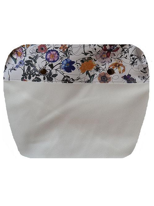 Подкладка белые цветы