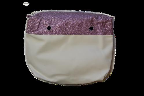 Подкладка с фиолетовыми блестками