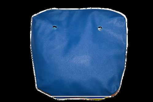 Подкладка синяя экокожа