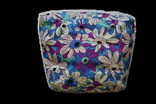 Подкладка фиолетовые цветы