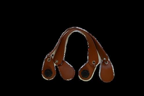 Ручки коричневые с кольцом