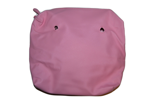 Подкладка розовая экокожа