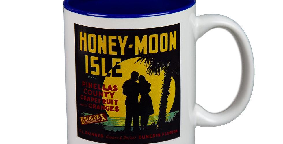 Honeymoon Isle Citrus Label Mug