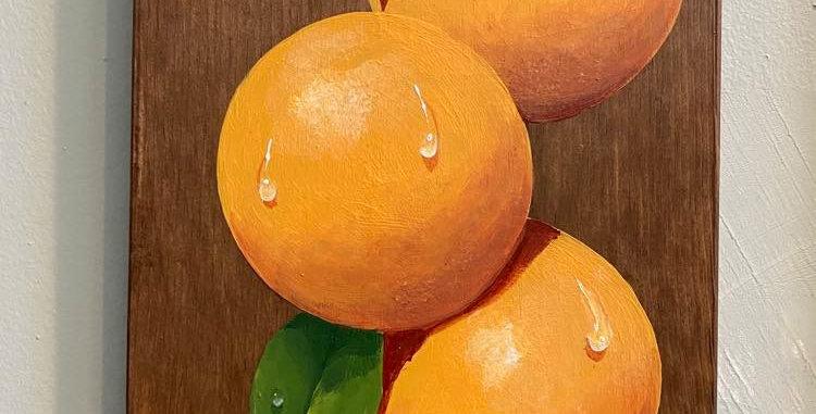Three Oranges by Steven Spathelf