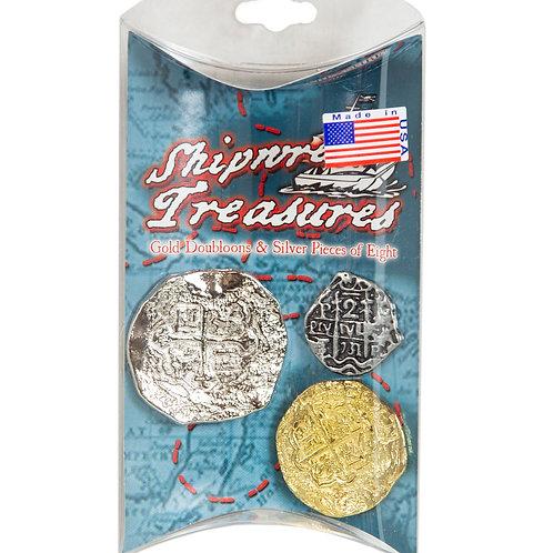 Shipwreck Treasure Coins