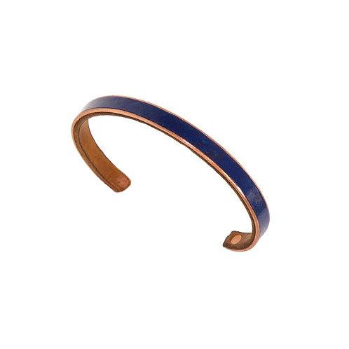 """1/4"""" Blue Stackable Bracelet"""