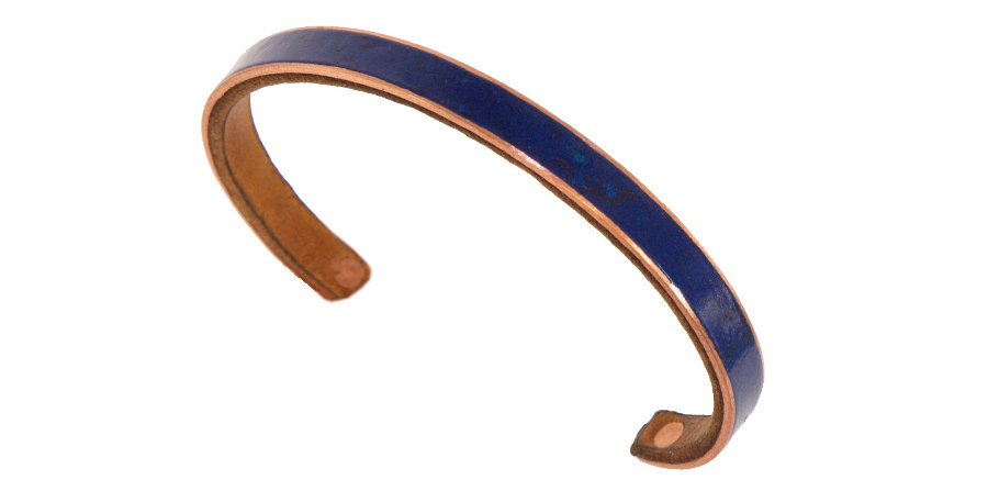 "1/4"" Blue Stackable Bracelet"