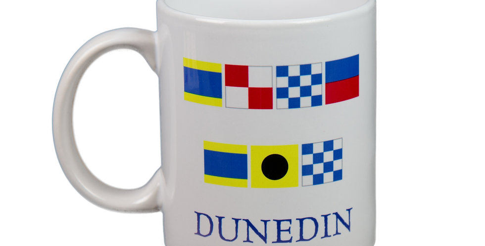 Dunedin Nautical Flag Mug