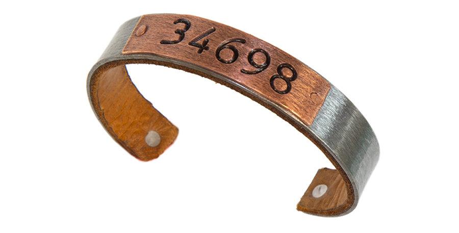 34698 Zip Code Bracelet Steel