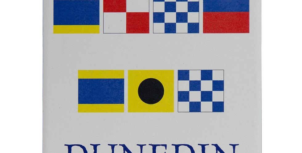 Dunedin Nautical Flag Coaster