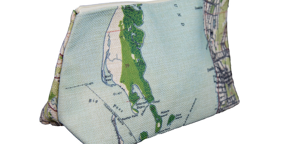 Dunedin Map Cosmetics Bag