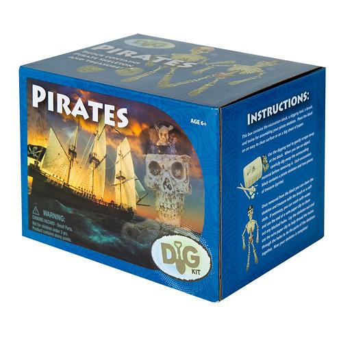 Pirate Skeleton Dig Kit