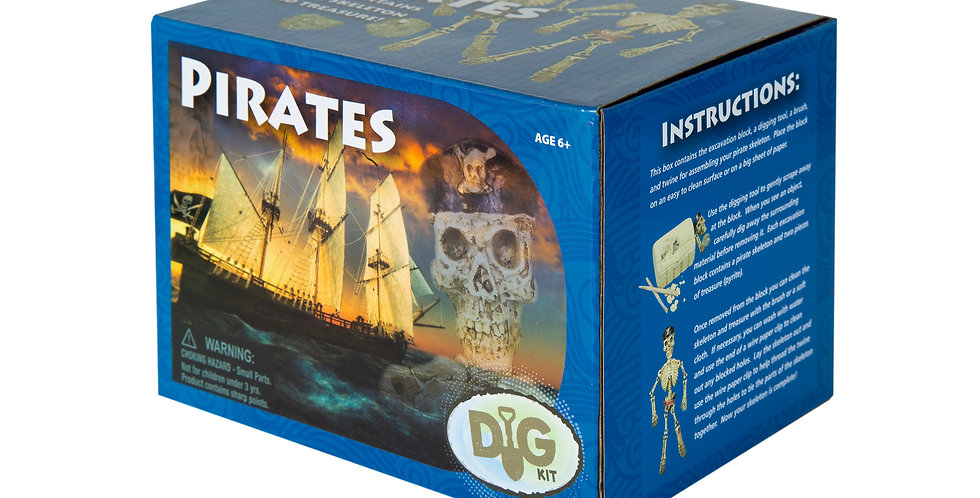 Pirate Skeleton Dig Kit