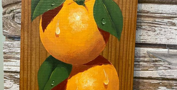 Two Oranges by Steven Spathelf