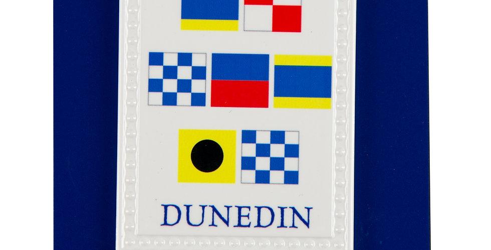 Dunedin Nautical Flag Ornament