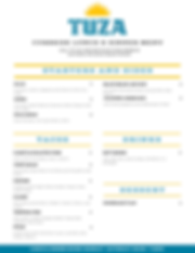 Copy of TUZA LUNCH AND DINNER MENU OPTIO