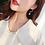 Thumbnail: Boucles d'oreilles Estrella Argent