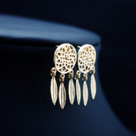 Boucles d'oreilles Lilya Doré