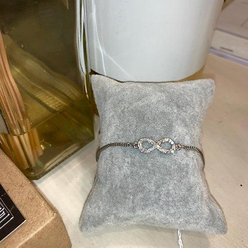 Bracelet Infinity Argent