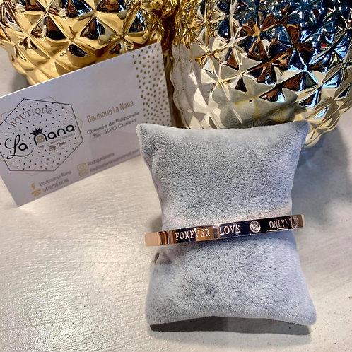 Bracelet Love Rose Gold