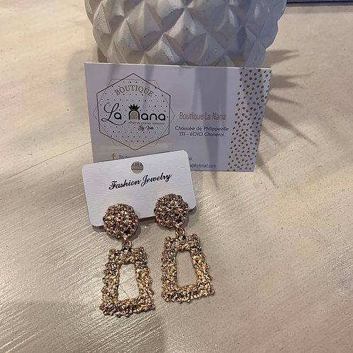 Boucles d'oreilles Aria Rose Gold