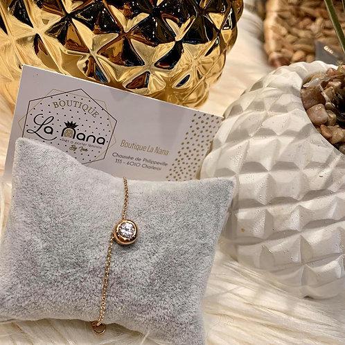 Bracelet Perla petit format ROSE GOLD