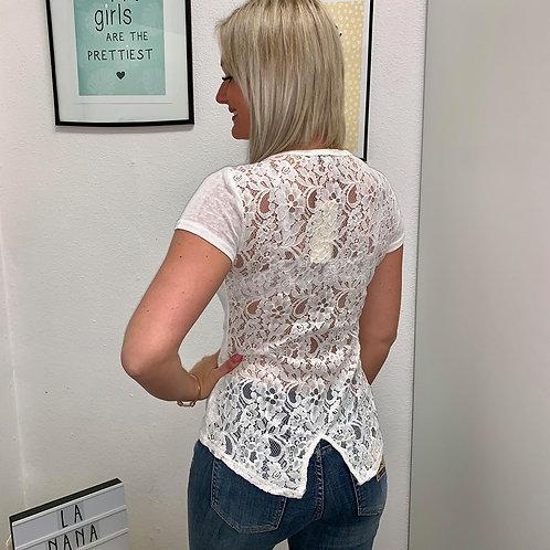 T-Shirt Lina Blanc