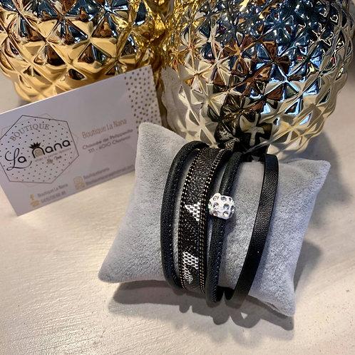 Bracelet Sofia Noir
