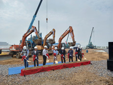 Groundbreaking Ceremony of Dongyang E&P Factory Project