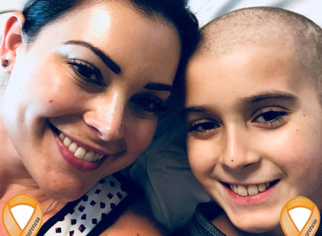 Testimonial of a mom helping her son fight cancer a second time