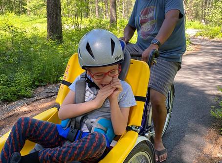 Avi and his bike