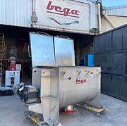 Mezcladora de Listones para Helicoidales Fertilizantes en Polvo Urea y Fosfato