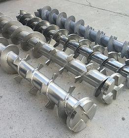 Transportadores Helicoidales montados en tubo